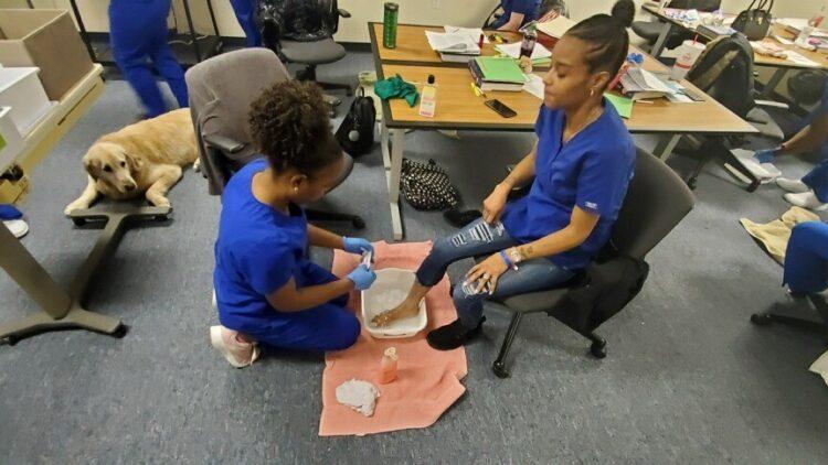 footcare class